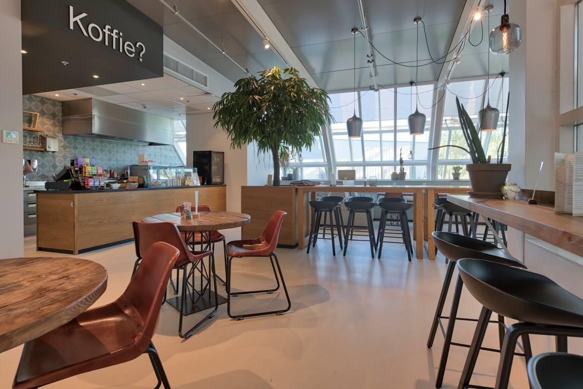 Inrichting Koffie&Lunch café