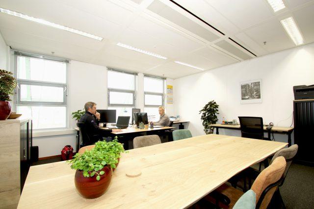 Voorbeeld kantoorruimte 34m2
