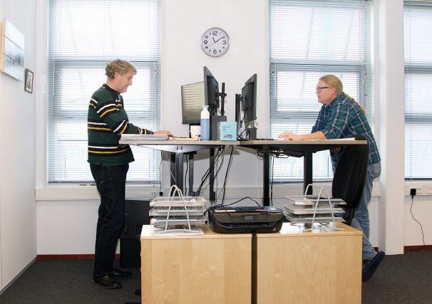 sfeerbeeld kantoorruimte 23 m2