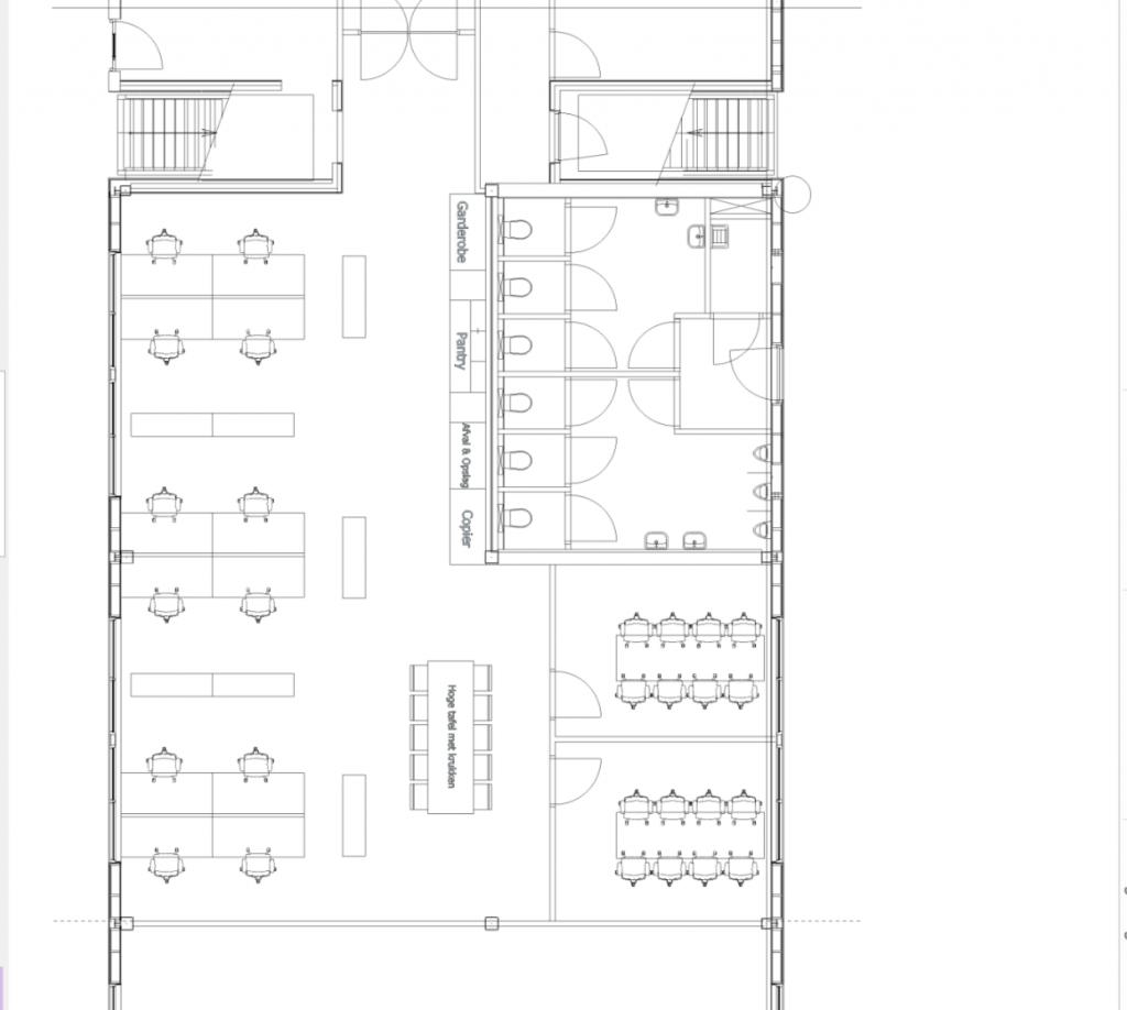 Plattegrond indeling schets 0.17