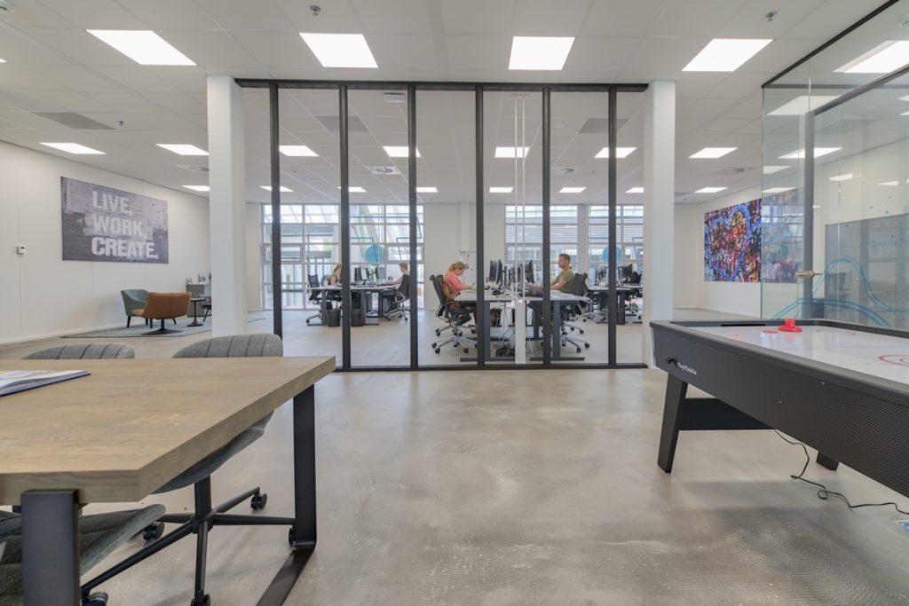 Impressie kantoor mogelijkheden