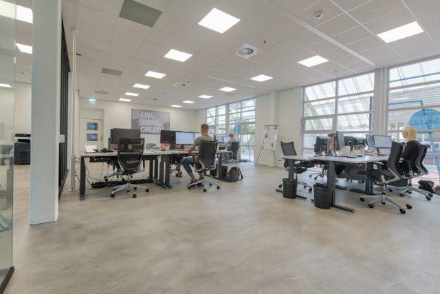 Interieur impressie kantoor