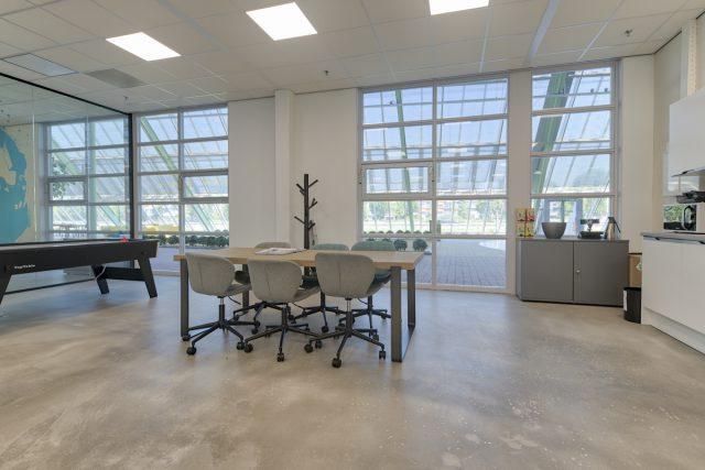 Veel daglicht kantoor Crystalic